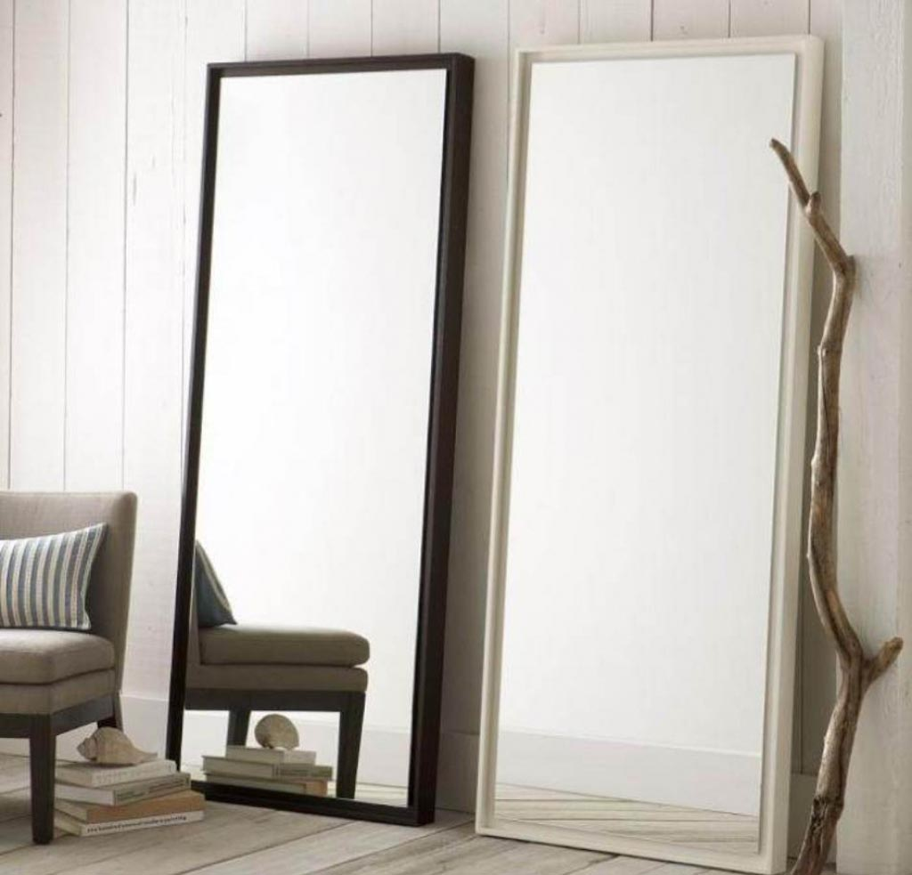 Large floor standing mirrors best decor things for Oversized mirror