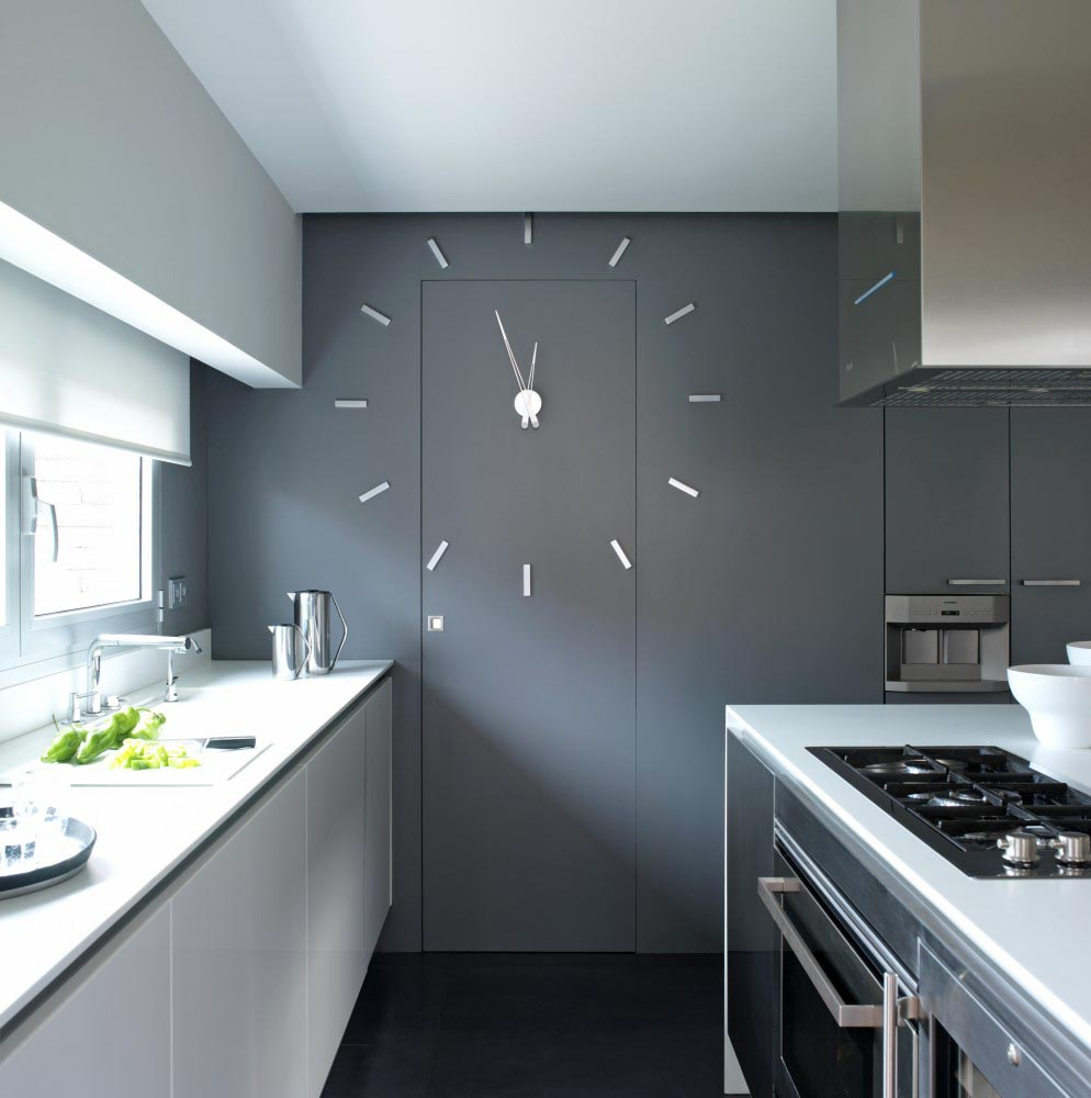 Large kitchen wall clocks best decor things for Large kitchen wall decor