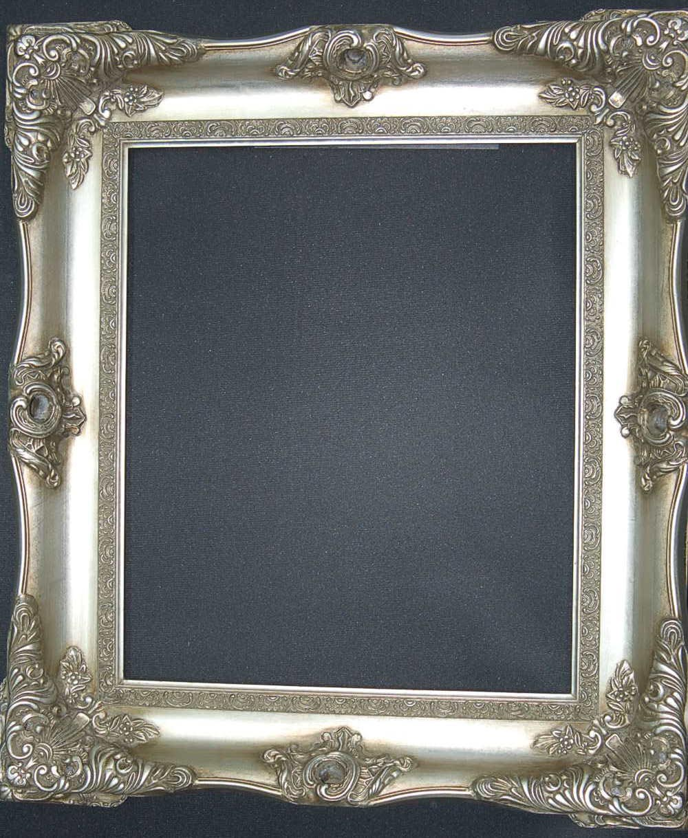 Large silver picture frames best decor things for How to make a large picture frame