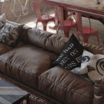 Leather Throw Pillows for Sofa