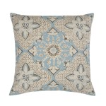 Light Blue Outdoor Pillows