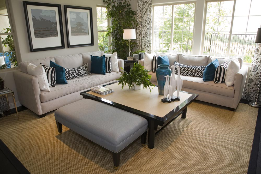 Light Blue Pillows for Couch