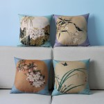 Light Blue Throw Pillows