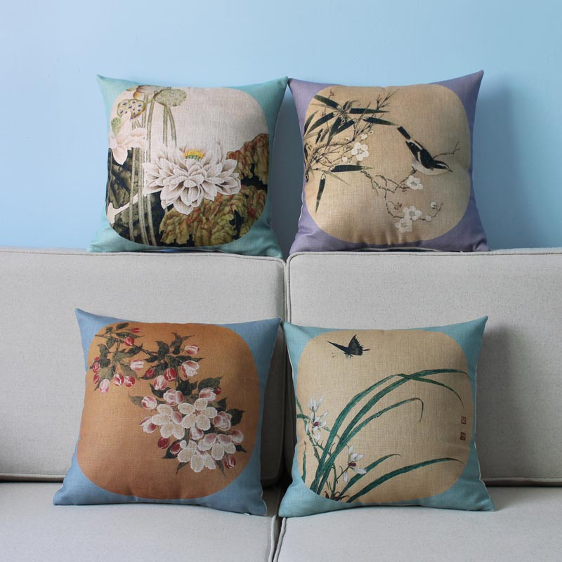 Decorative Pillows For Blue Couch : Light Blue Pillows Bring Elegance to Your Sofa Best Decor Things