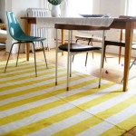 Light Yellow Area Rug