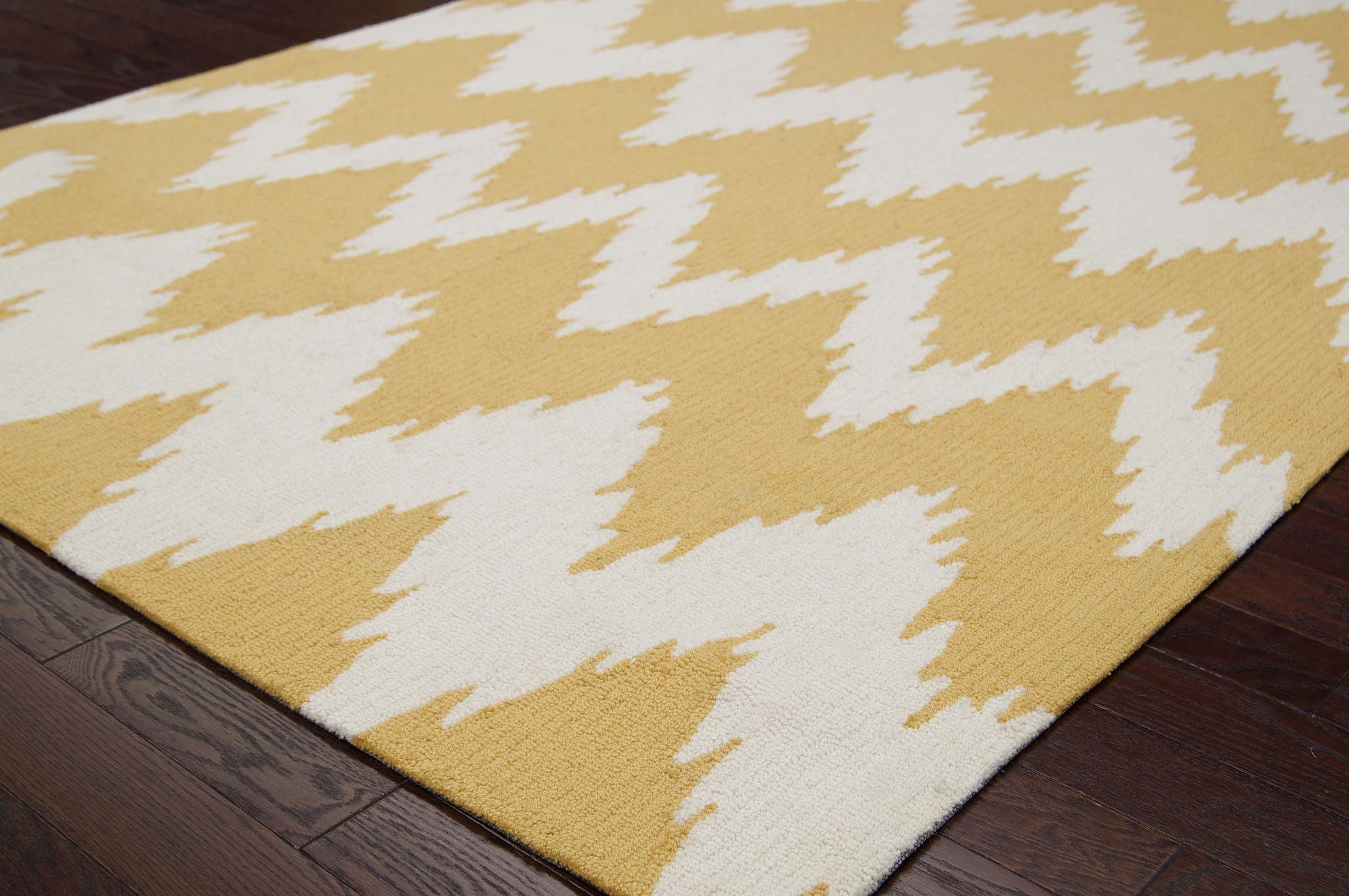 Mustard Yellow Area Rug