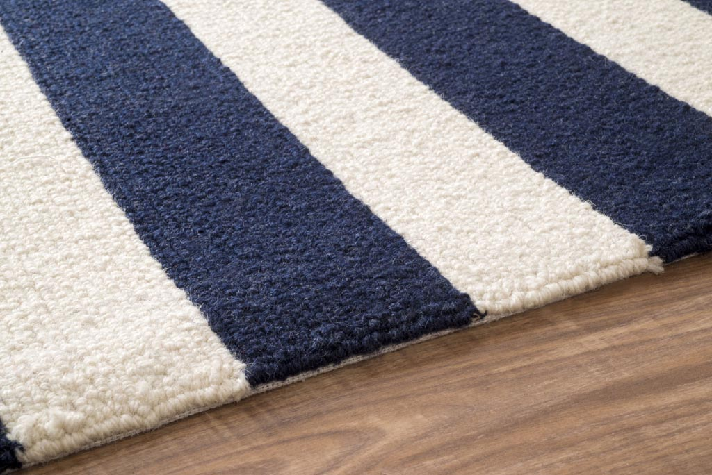 blue and white striped area rug rugs ideas