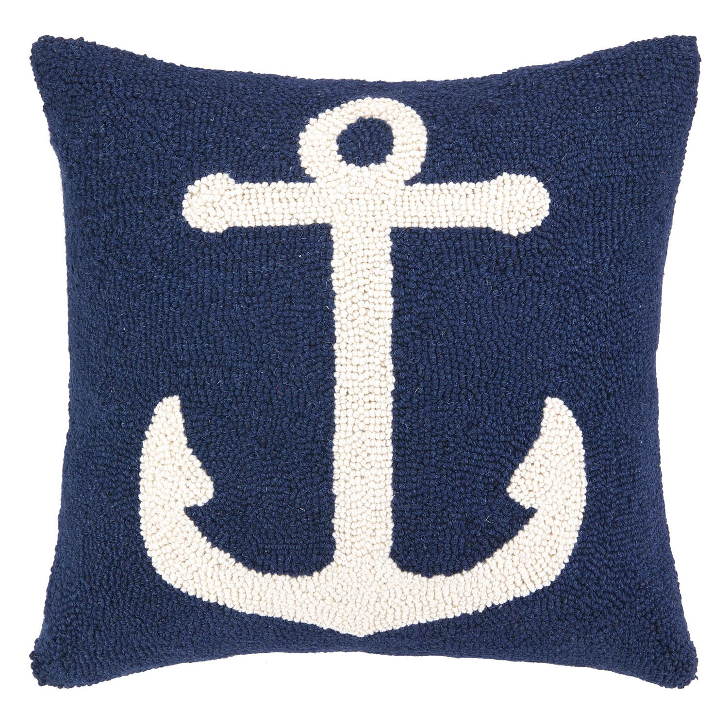 Navy Blue and White Throw Pillows