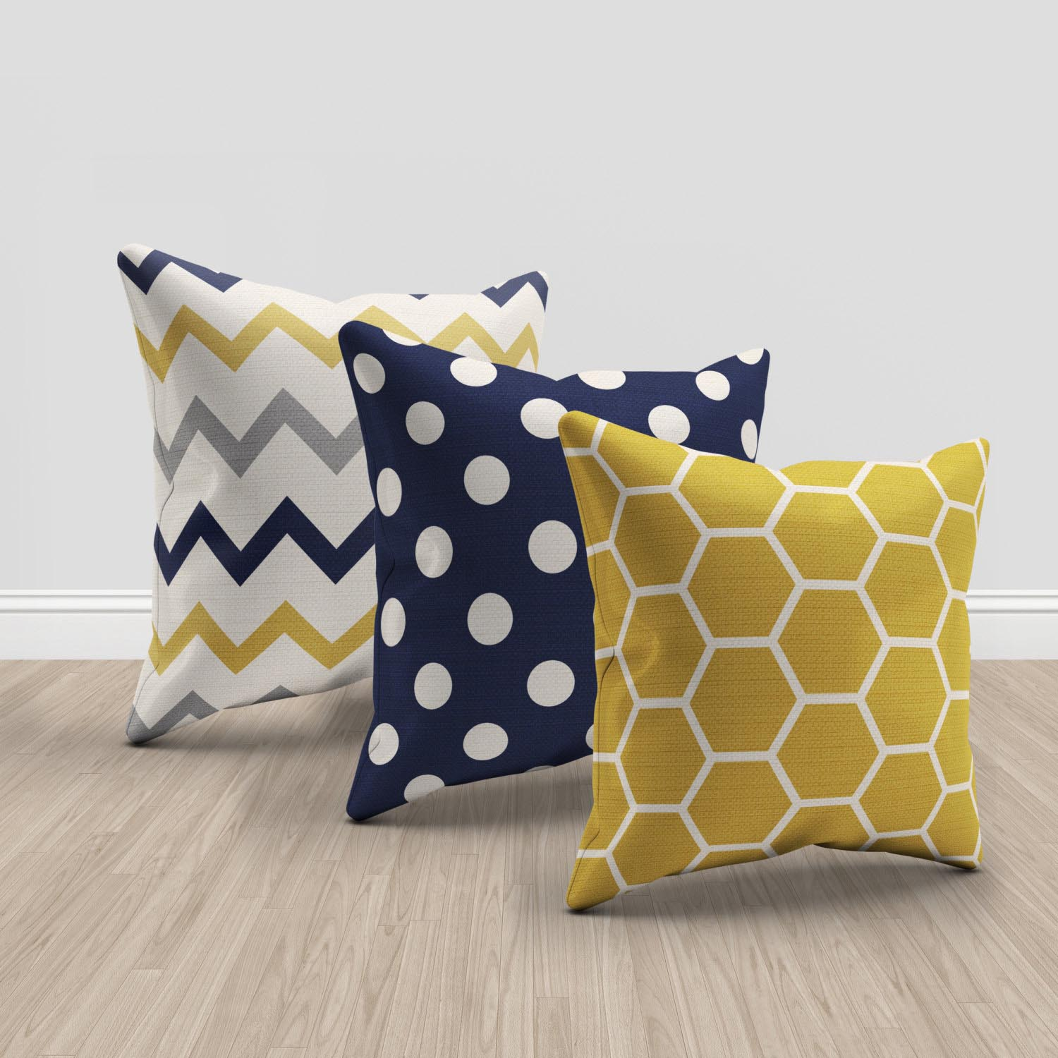 Navy Blue Couch Pillows