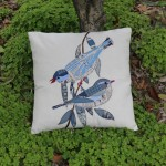 Navy Blue Outdoor Pillows