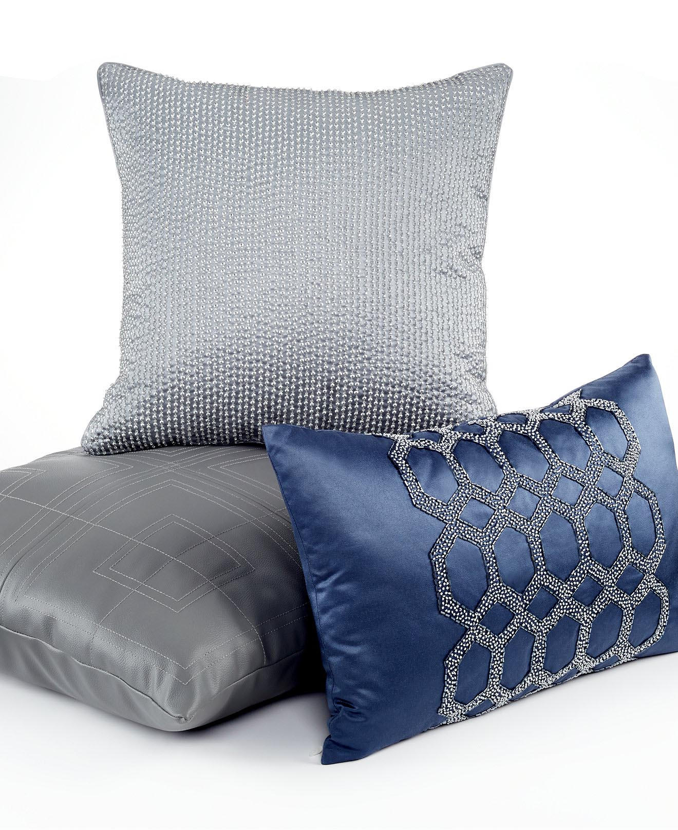 Navy Blue Pillows Decorative