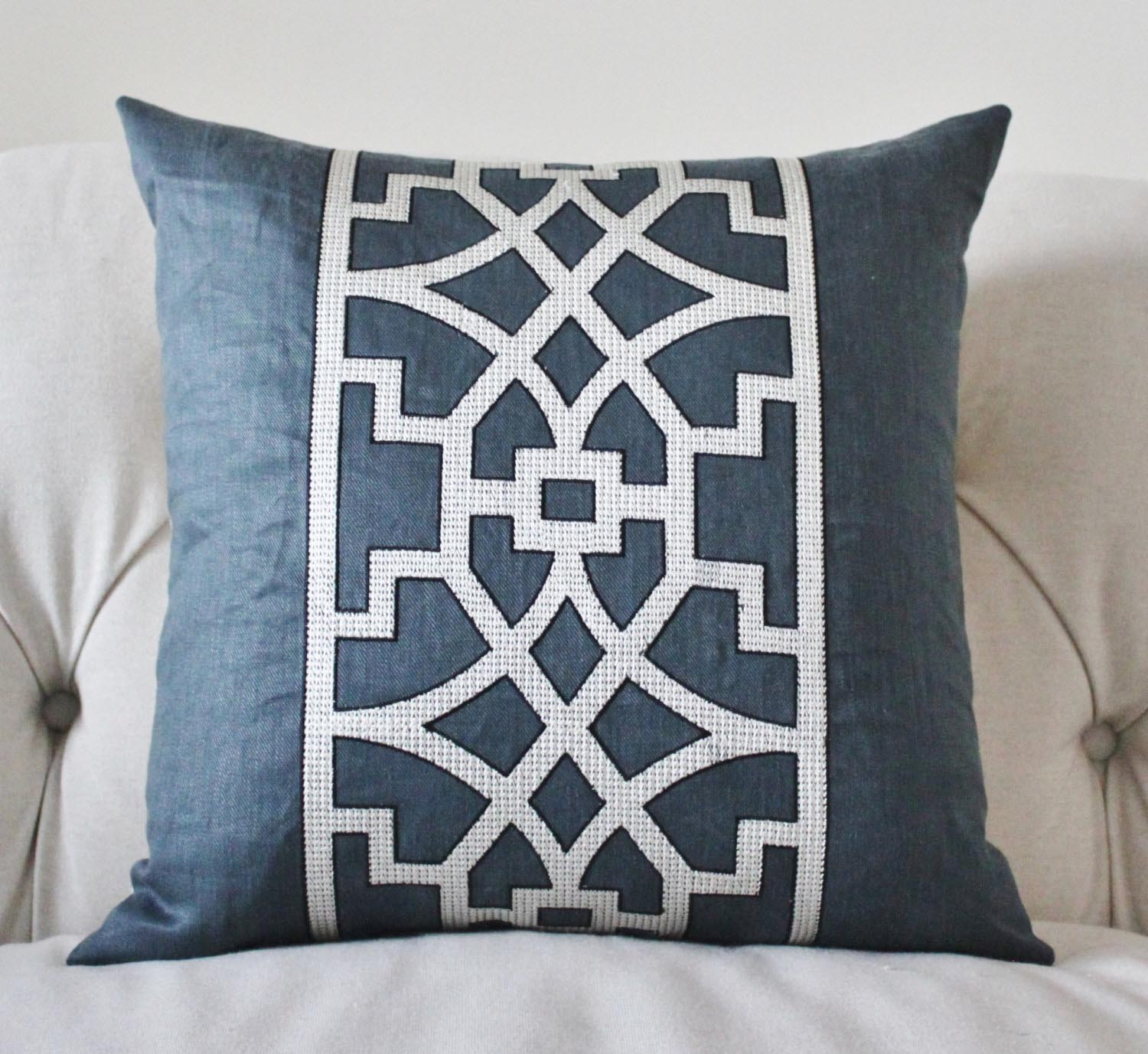 Navy Blue Toss Pillows