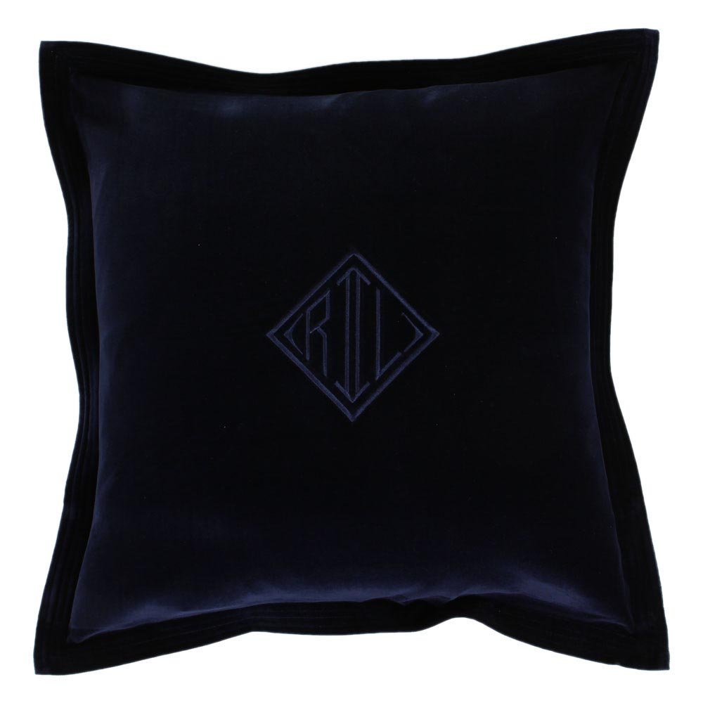 Navy Blue Velvet Pillows