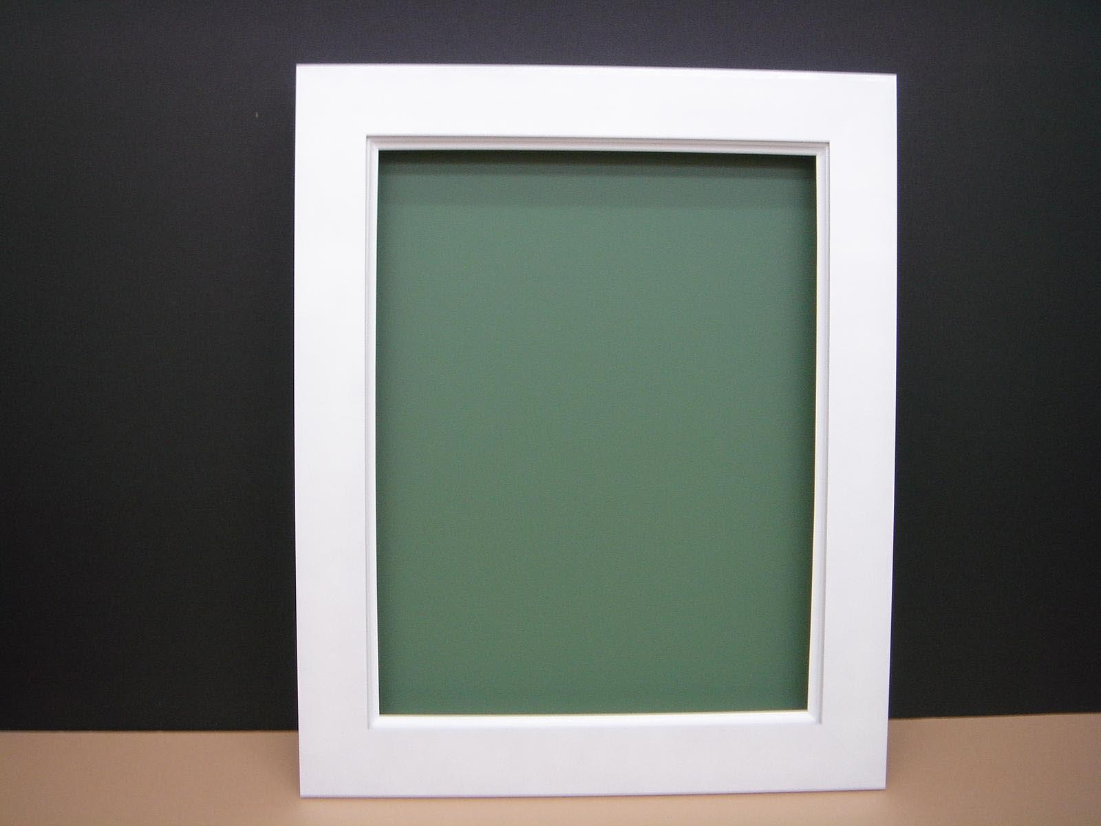 Painting Picture Frames White