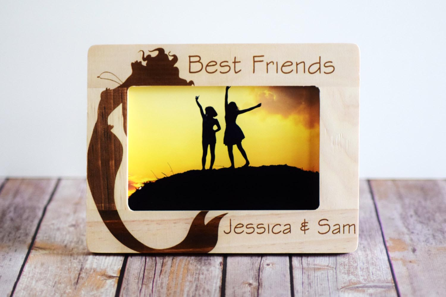 Personalized paper photo frames best decor things for Best place to get picture frames