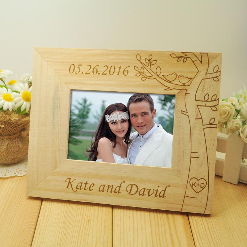 Personalized Photo Frames Wedding