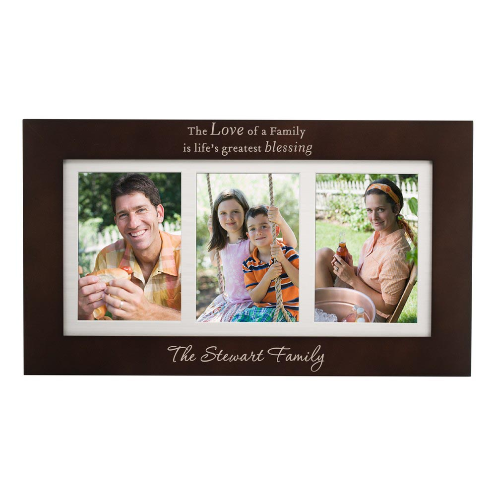 Personalized Photo Name Frames