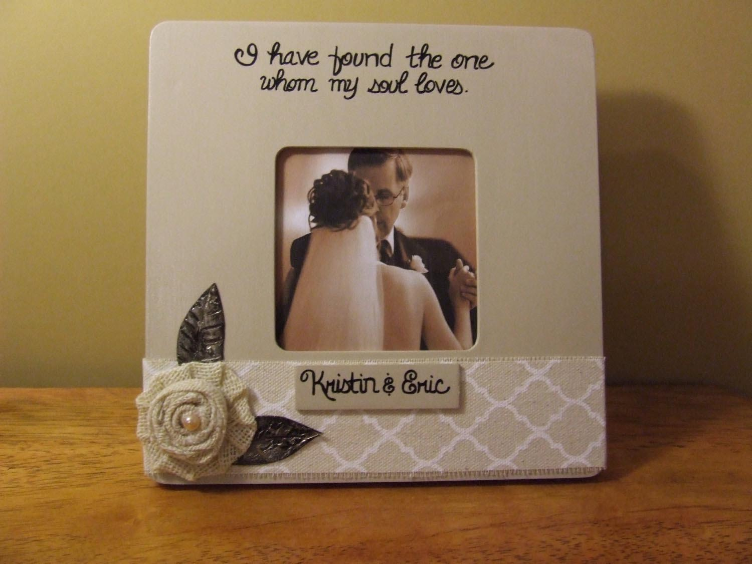 Personalized Wedding Photo Frames