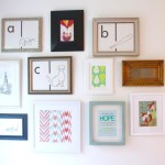 Picture Frames Gallery Wall