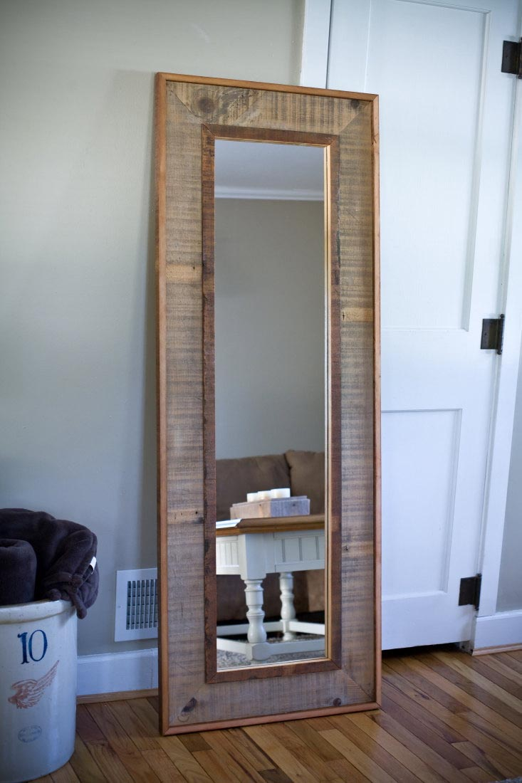 Rustic floor length mirrors best decor things for Decorative floor length mirrors