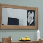 Rustic Oak Wall Mirrors