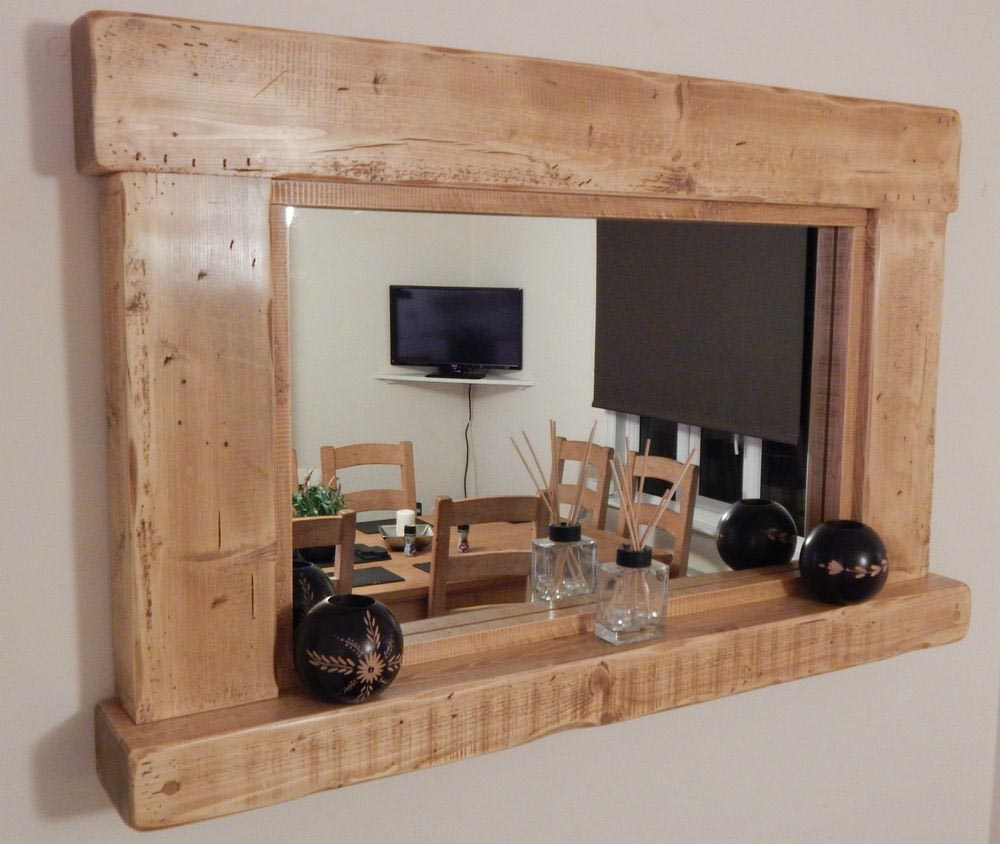 Rustic Style Wall Mirrors