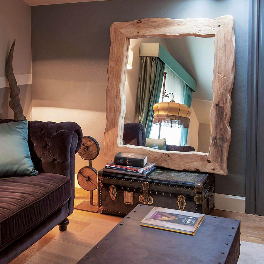 Rustic Wall Mirrors Large