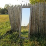 Rustic Wood Wall Mirrors