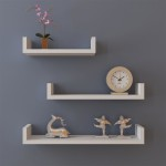 Shelves Hanging on Wall