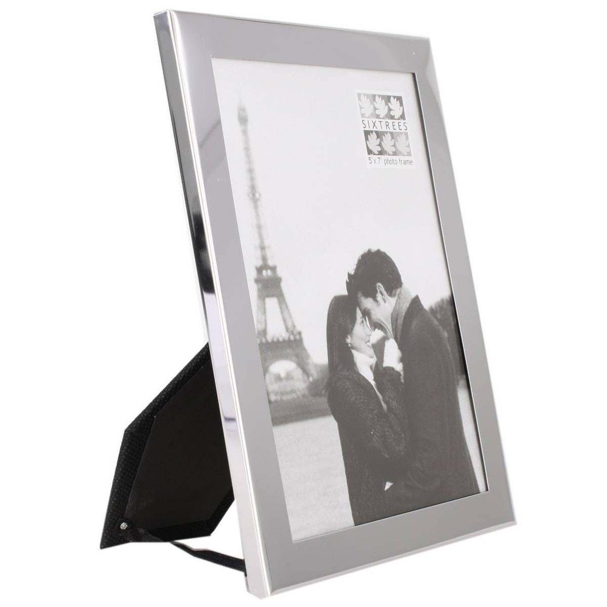Silver Picture Frames 5x7