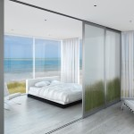 Sliding Glass Panels Room Dividers