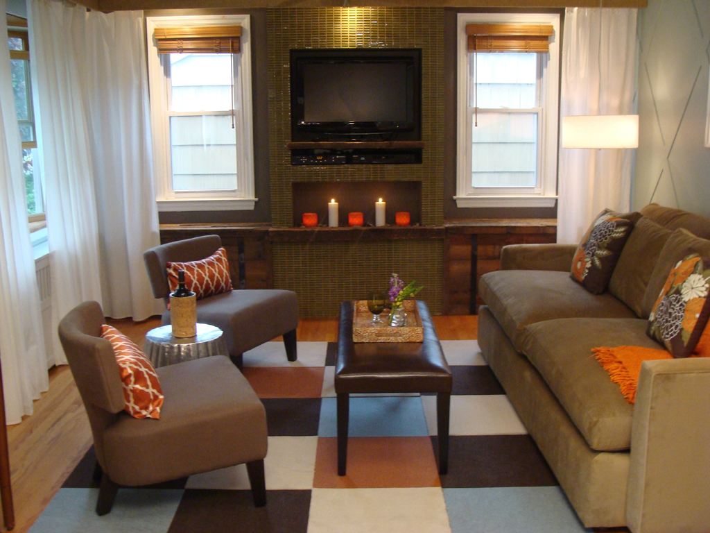 Small Apartment Furniture Layout