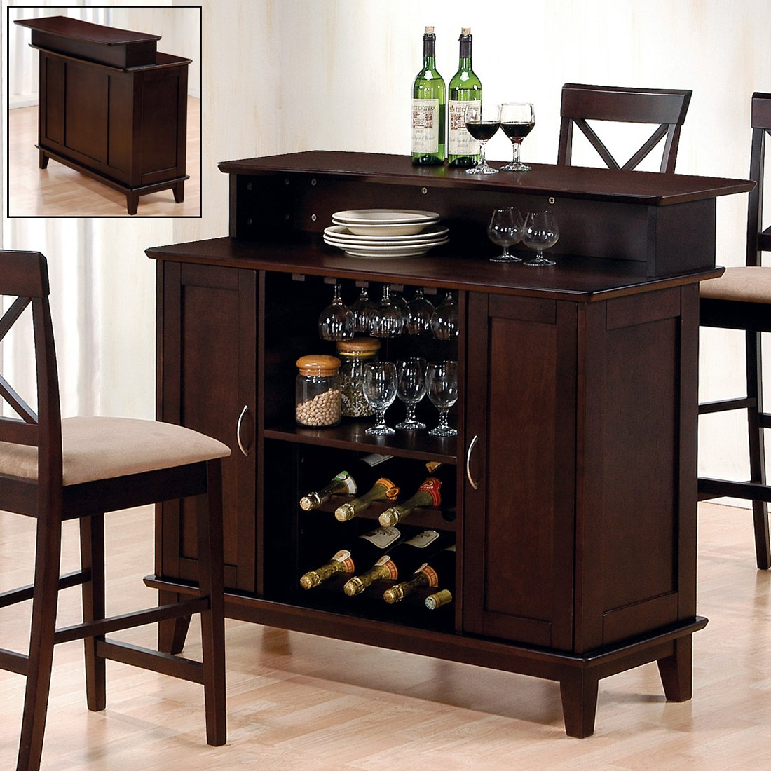 Small bar furniture for apartment best decor things for Small apartment furniture ideas