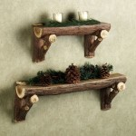 Small Wooden Wall Shelves