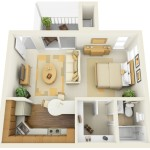 Studio Apartment Floor Plans Furniture Layout