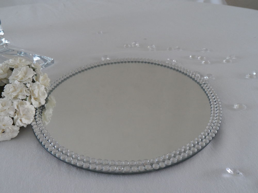 Table Centerpiece Mirrors