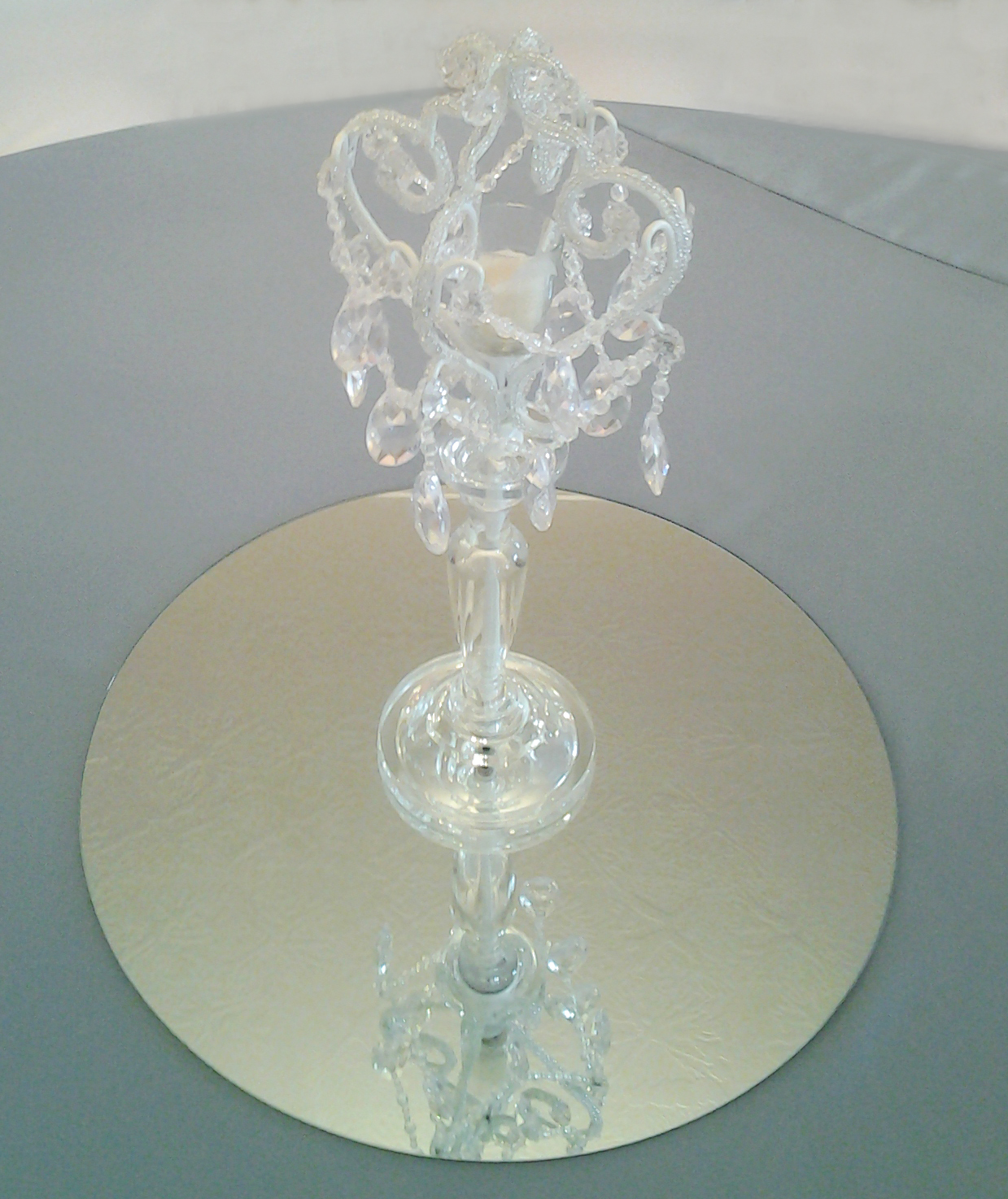 Table Mirrors Centerpieces