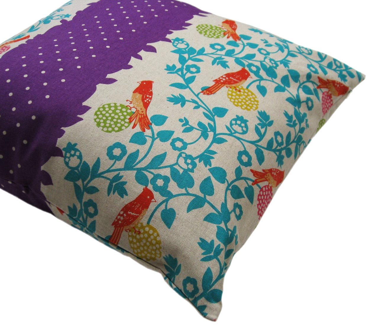Teal and Purple Throw Pillows