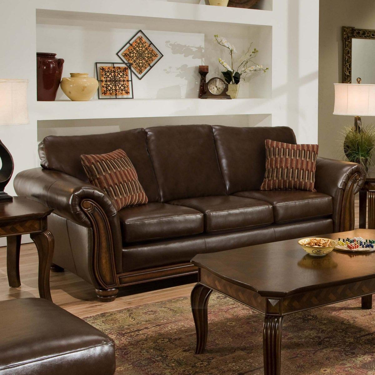 Throw Pillows For A Brown Leather Couch : Throw Pillows For Brown Sofa Best Decor Things