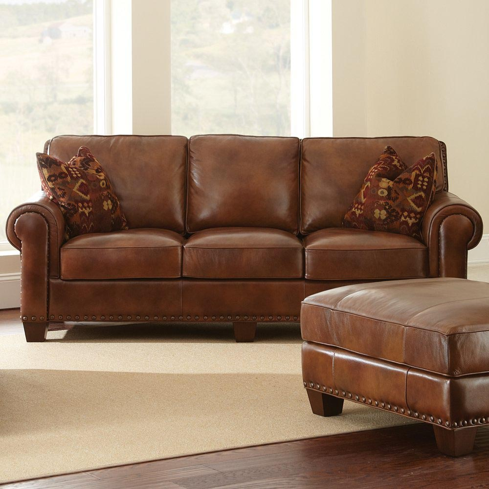 Throw pillows for leather sofa best decor things for Cushions for leather sofas