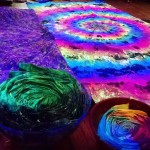 Trippy Blacklight Tapestries