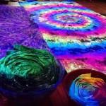 Trippy Blacklight Tapestries