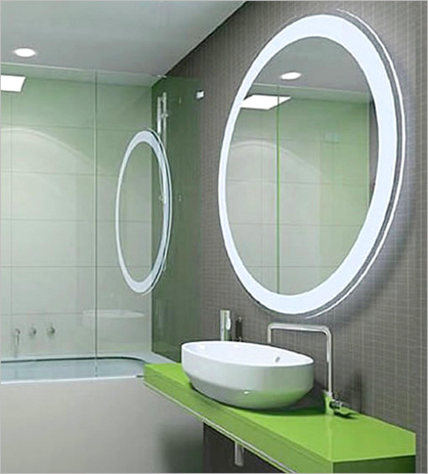 Unique Mirrors for Bathroom