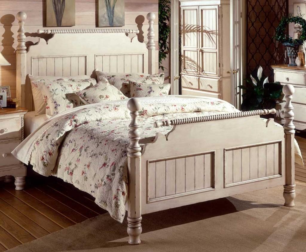 Vintage Blonde Bedroom Furniture