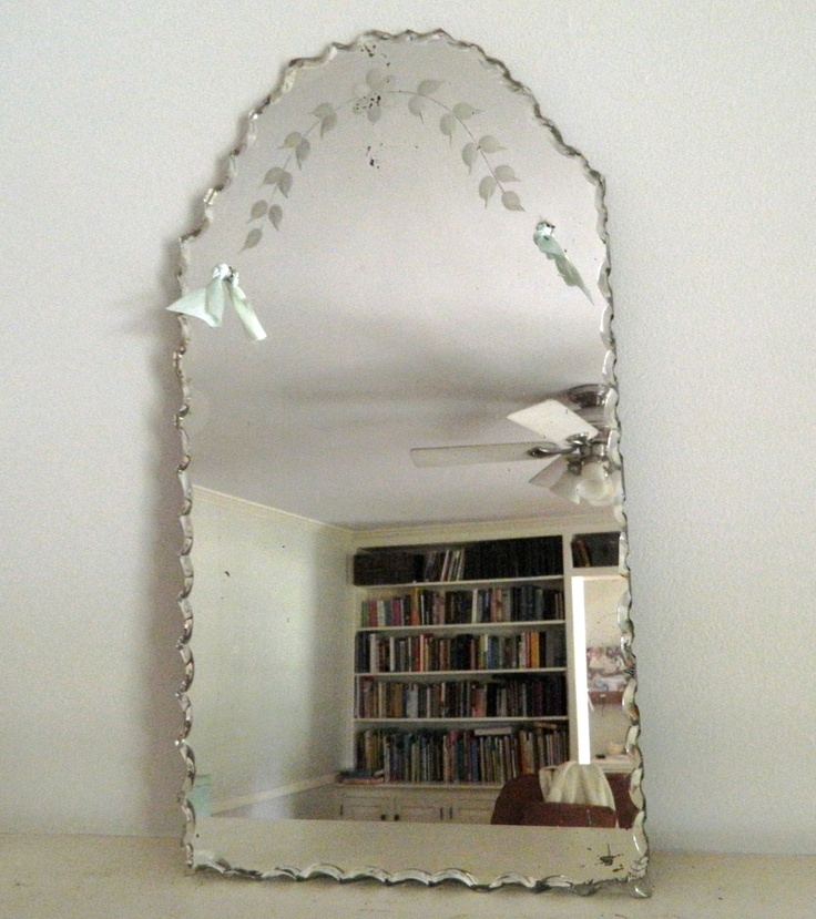 Vintage Etched Mirrors Best Decor Things