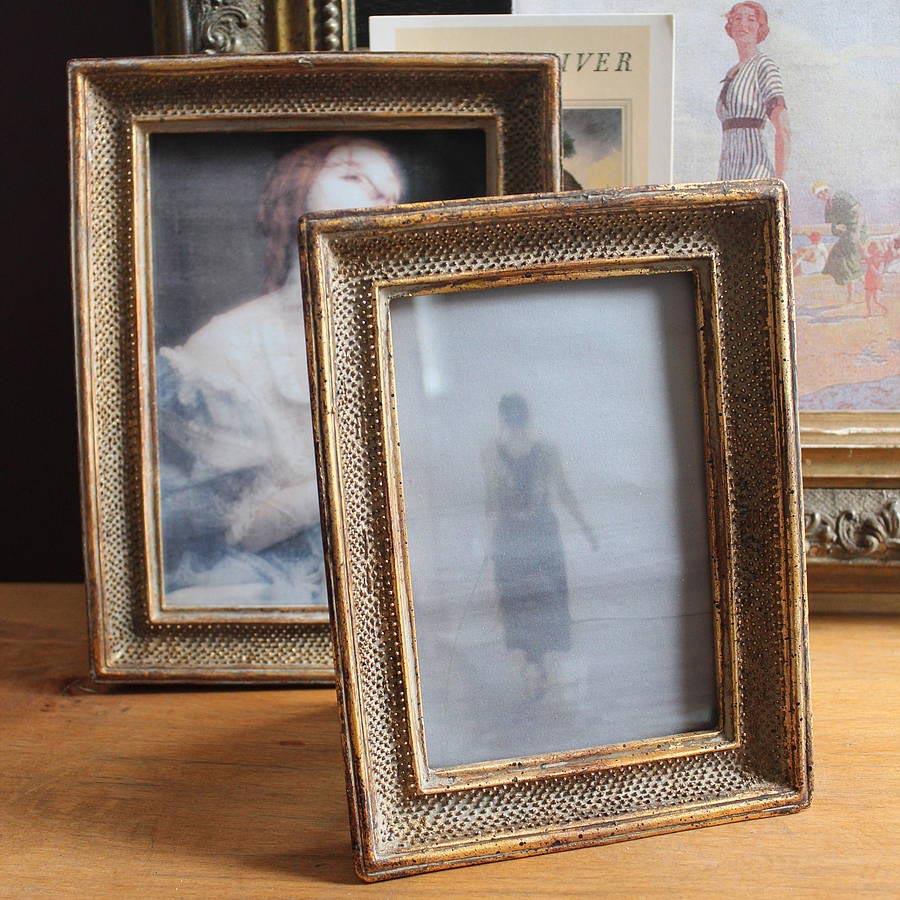 Vintage Gold Picture Frames
