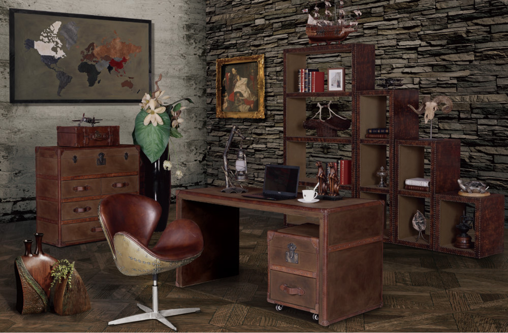 Vintage Industrial Office Furniture