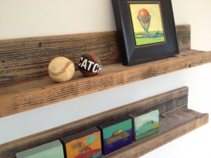 Wall Hanging Wooden Shelves