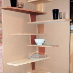 Wall Mounted Corner Shelves