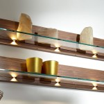 Wall Mounted Floating Shelves